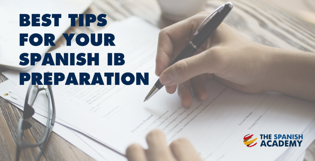 Best tipos for your Spanish IB preparation